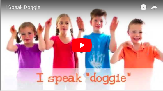 I Speak Doggie (song for children)