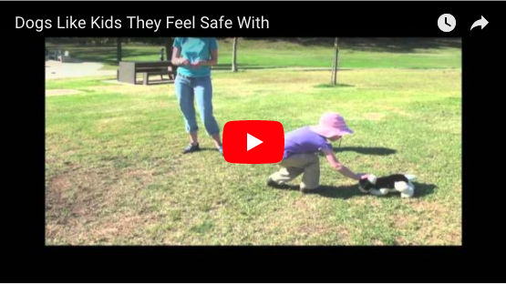 Dogs and Children (Dogs Like Kids They Feel Safe With–Canis Film Festival)